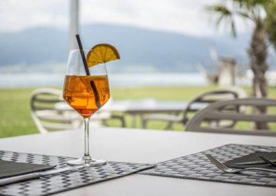 Restaurant Cheyres vue Lac