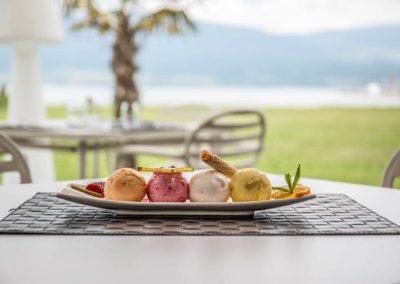 Restaurant Romantique bord du lac de Broye